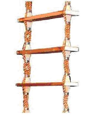 Thang xuồng gỗ